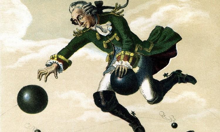 Olvass online! - Münchhausen báró 300 évvel ezelőtt született