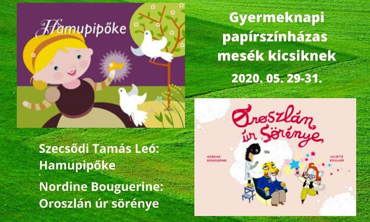 """""""Péntek esti mese"""" pótló - Gyermeknapi papírszínházas mesék"""