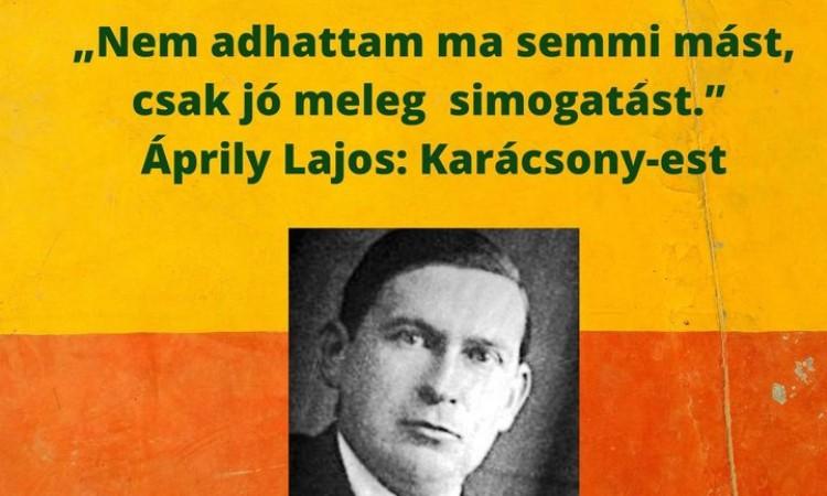 Versbarátok klubja - Ápriliy Lajosra emlékezve