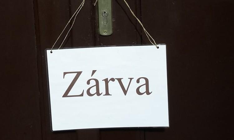 2019. 05. 01-én, szerdán a könyvtár ZÁRVA TART